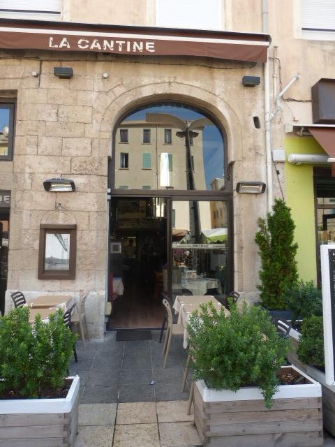 Pour faire votre ad 39 ap linares architectures - Restaurant la cantine marseille ...